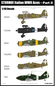 Stormo Decals Italian WWII Aces Part II - STRM 48002