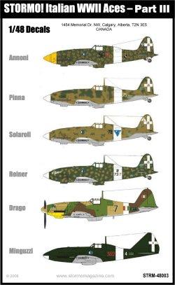 STRM-48003 - Italian WWII Aces Part III