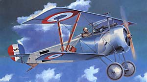 Click here to purchase the Eduard Profipack 1/48 Nieuport Ni.17