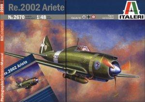 Italeri - Re.2002 Ariete 1/48 - IT2670