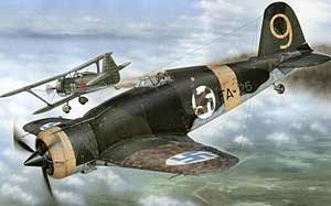 Fiat G.50 Finnish Version, 1/48 - 48086