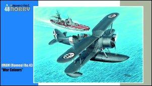 <!-- Special Hobby - IMAM (Romeo) Ro.43 'War Colours' - 1/48 - SO48169 -->