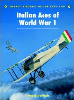 Click here to purchase Osprey's Italian Aces of World War I